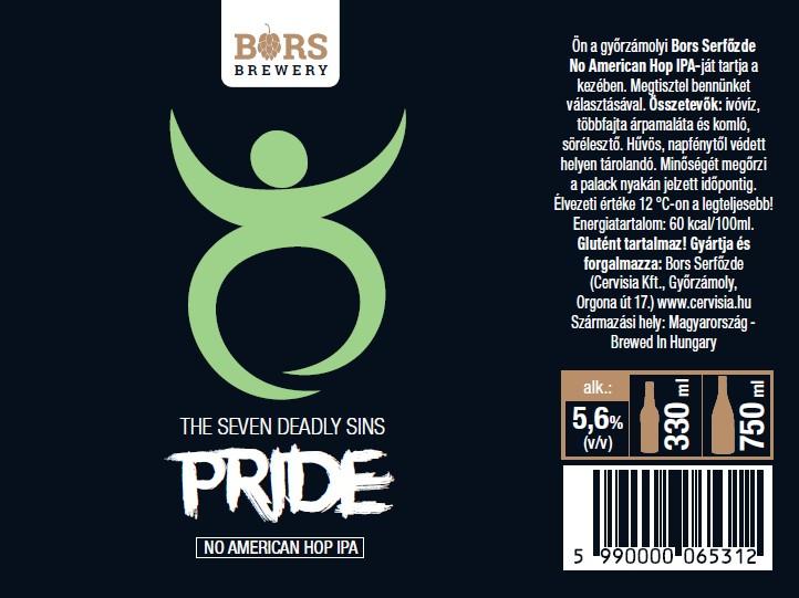 Pride - Seven Sin's (NAHIPA)