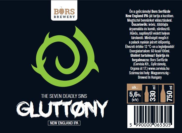 Gluttony - Seven Sin's (NEIPA)